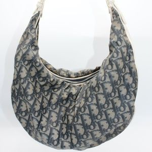 CHRISTIAN DIOR Nylon Diorissimo Hobo Pre-Owned